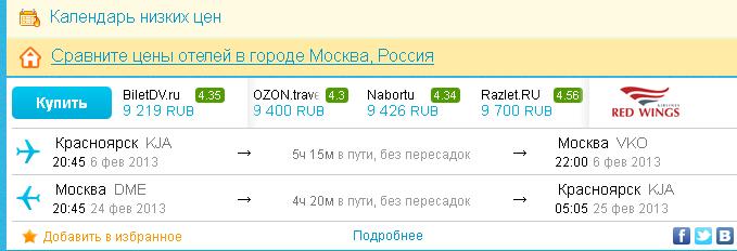 Цена билета на самолет в прагу